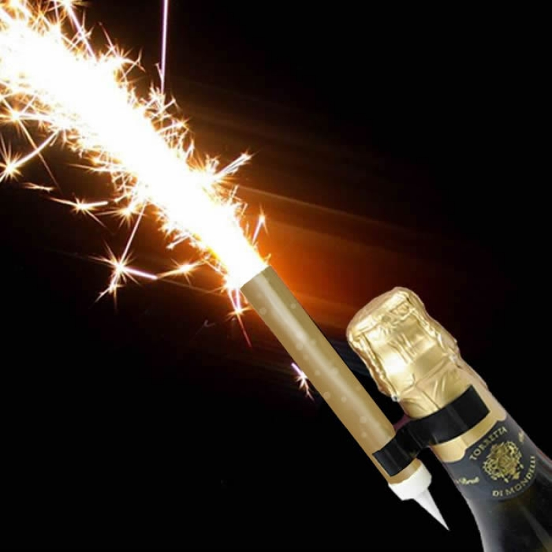 Prosecco Flaming Fountain with bottle clip