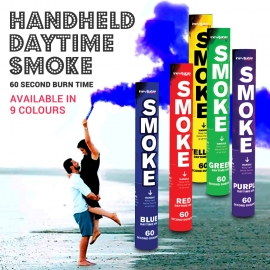 Handheld Ring Pull Smoke Grenade, Pack of 4