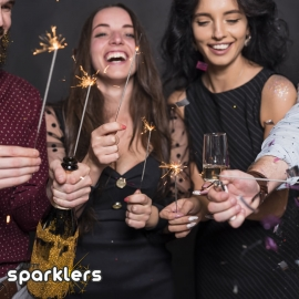25cm Large Legacy Sparklers, Pack of 5