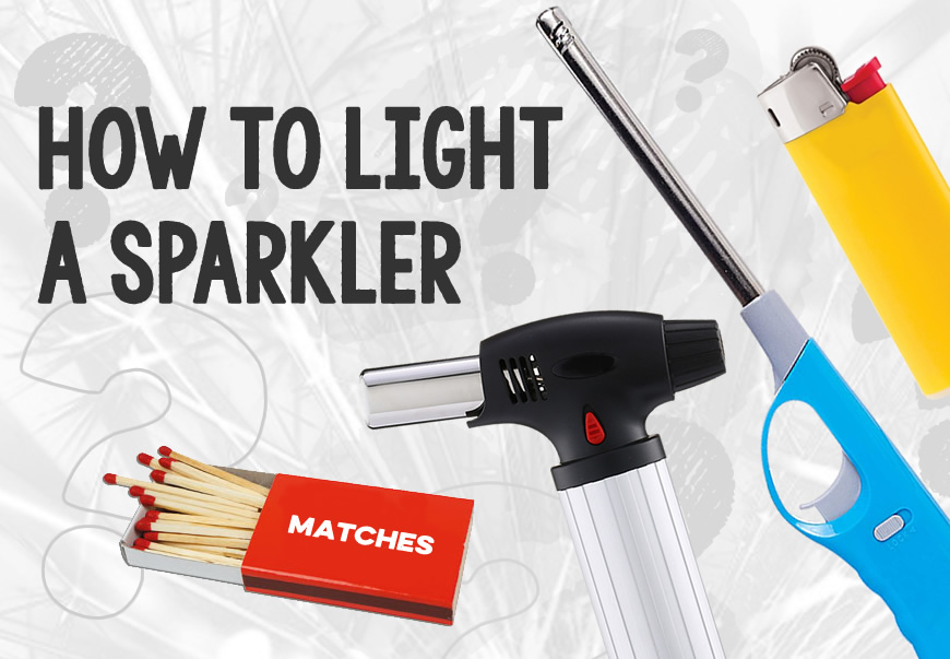 How to Light a Sparkler