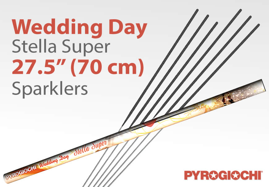 The Longest Hand-held Sparklers in the UK